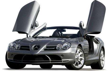 Mercedes-Benz SLR Roadster (2009-2010)