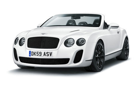 Bentley Continental Supersports Convertible (2009-2013)
