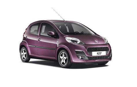 Peugeot 107 facelift (2012-2015)
