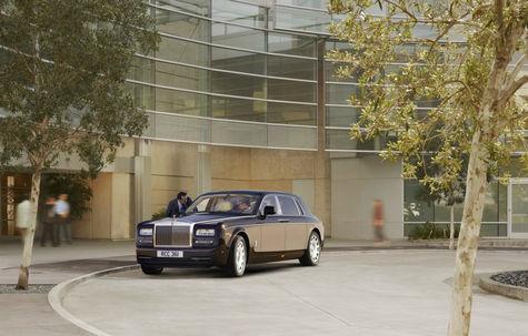 Rolls-Royce Phantom Extended Wheelbase facelift
