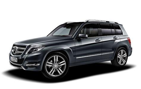Mercedes-Benz GLK facelift (2012-2015)