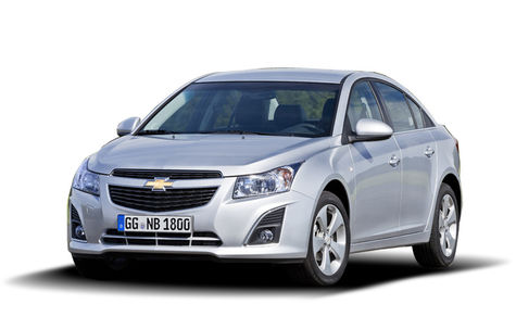 Chevrolet Cruze facelift (2013-2015)