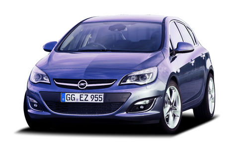 Opel Astra facelift (2012-2015)