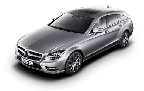 Mercedes-Benz CLS63 AMG Shooting Brake (2012-2014)
