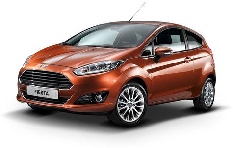 Ford Fiesta (3 usi) (2013-2016)