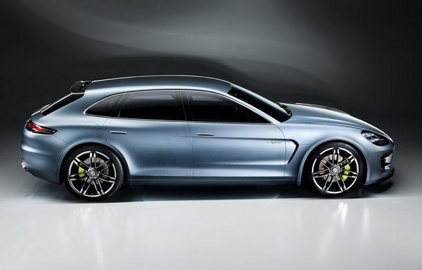 Porsche Panamera Sport Turismo Concept, primele imagini şi informaţii - Poza 2