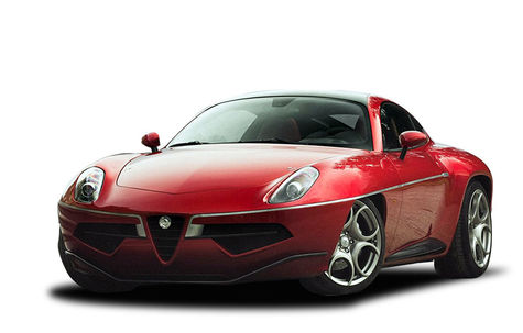 Alfa Romeo Disco Volante (by Touring Superleggera)