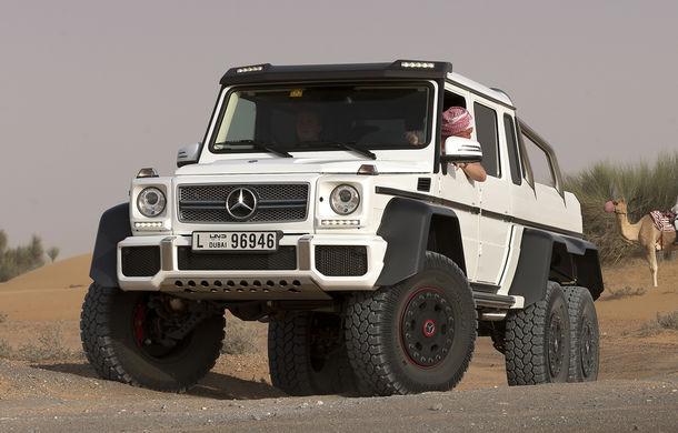 Mercedes-Benz a vândut toate exemplarele G63 AMG 6x6 disponibile - Poza 2