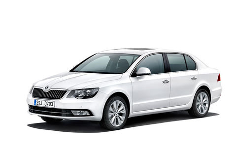 Skoda Superb facelift (2013-2015)