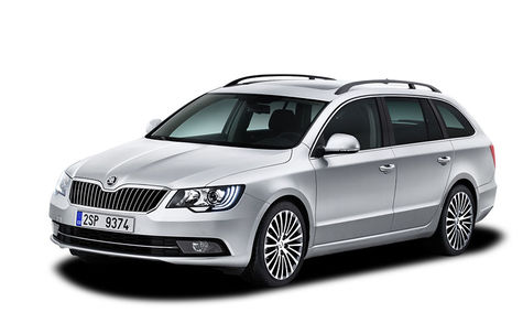 Skoda Superb Combi facelift (2013-2015)