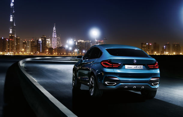 BMW X4 Concept: fotografiile oficiale cu fratele mai mic al lui X6 - Poza 10
