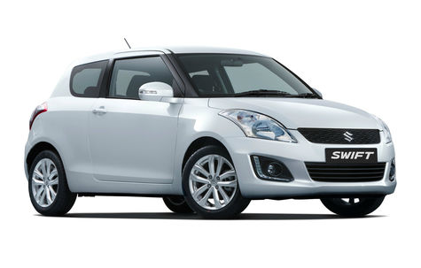 Suzuki Swift (3 usi) facelift (2014)