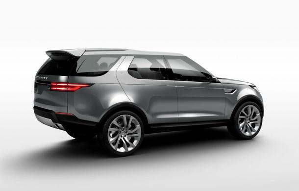Land Rover Discovery Vision Concept anticipează viitoarea generaţie a SUV-ului britanic - Poza 2