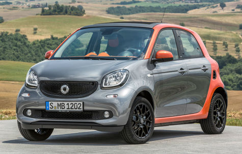 Smart Forfour (2014)
