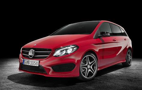 Mercedes-Benz Clasa B facelift