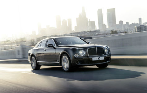 Bentley Mulsanne Speed facelift