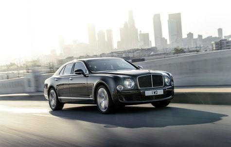 Bentley Mulsanne Speed facelift