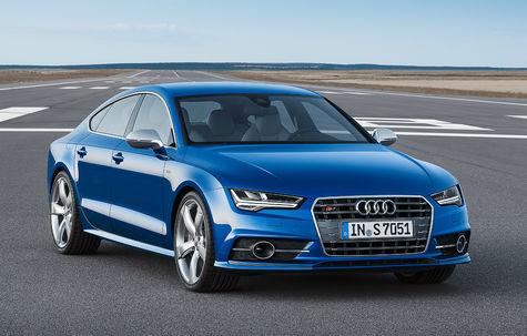 Audi S7 Sportback facelift