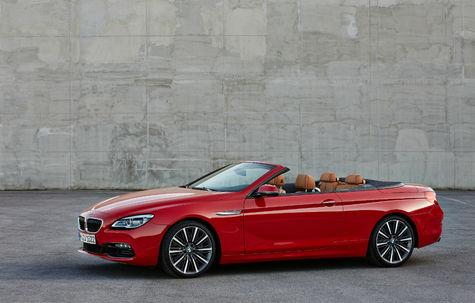 BMW Seria 6 Cabriolet facelift