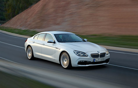 BMW Seria 6 Gran Coupe facelift