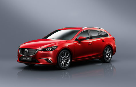 Mazda 6 Wagon facelift