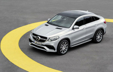 Mercedes-Benz GLE Coupe 63 AMG -