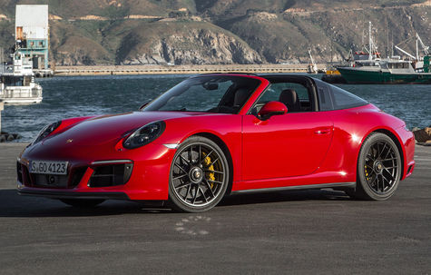 Porsche 911 Targa 4 facelift