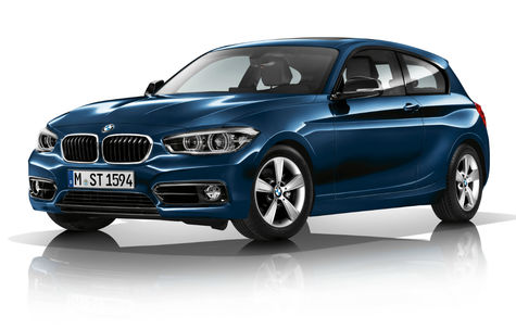 BMW Seria 1 (3 usi) facelift (2015-2017)