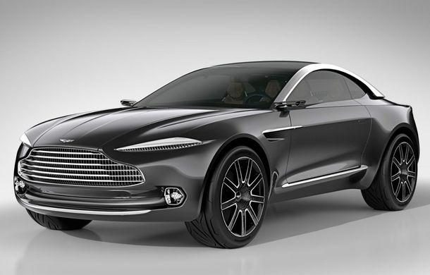 Crossover-ul Aston Martin DBX ar putea fi printre primele mașini din lume fără oglinzi retrovizoare - Poza 2