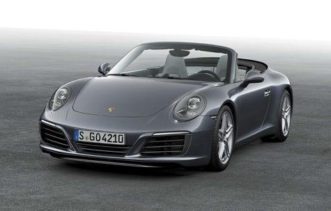 Porsche 911 Cabrio facelift