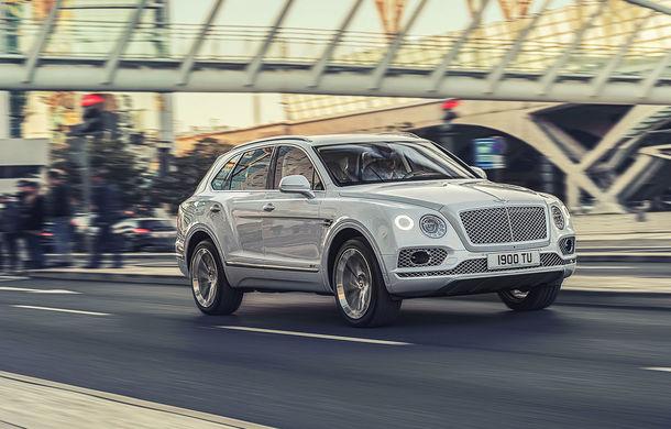 Planurile Bentley pentru SUV-ul Bentayga: V8 pe benzină și plug-in hybrid din 2018 - Poza 2