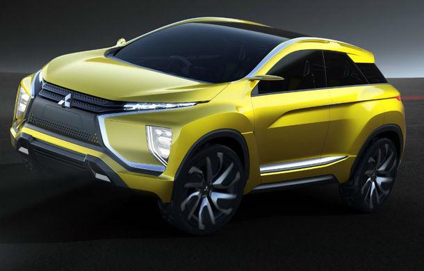 Mitsubishi eX, conceptul 100% electric al cărui design prefigurează viitoarele crossovere ale mărcii - Poza 2