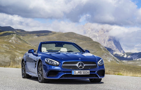 Mercedes-Benz SL facelift