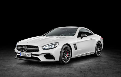 Mercedes-Benz SL AMG facelift -