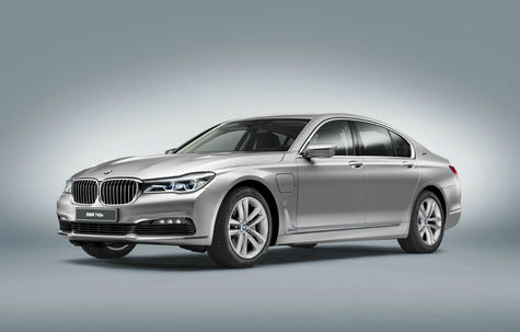 BMW Seria 7 Hybrid -