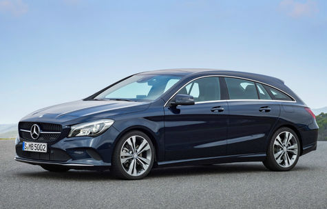 Mercedes-Benz CLA Shooting Brake facelift