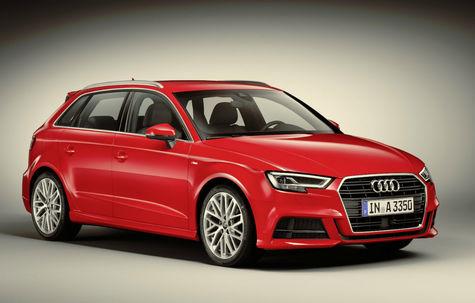 Audi A3 Sportback facelift