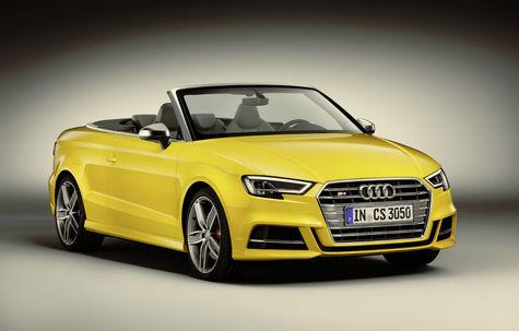 Audi S3 Cabrio facelift -