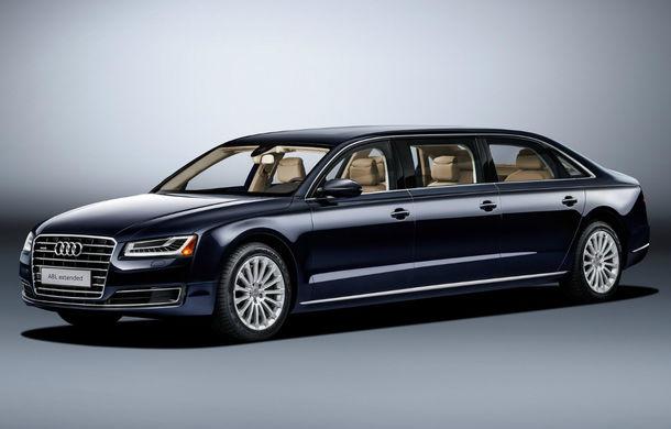 Audi A8 L Extended: șase metri de lux pentru doar șase pasageri - Poza 2