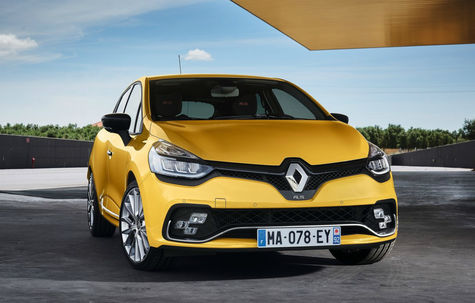 Renault Clio RS facelift -