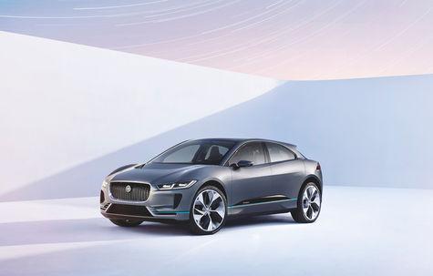 Jaguar I-Pace Crossover Concept