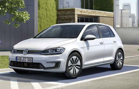 Volkswagen e-Golf facelift