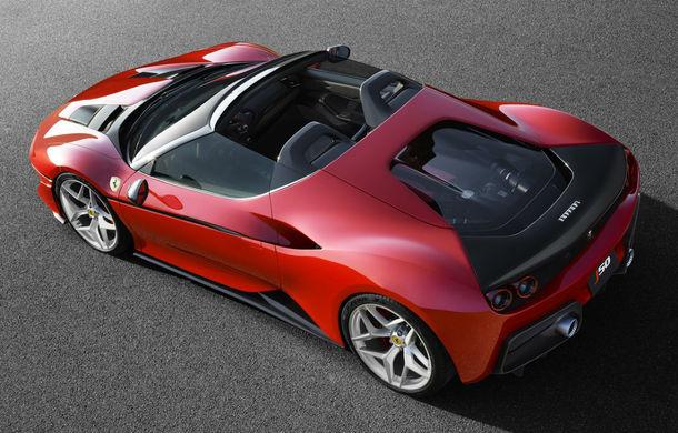 Ferrari face o dedicație fanilor din Japonia: italienii revin la caroseria targa cu noul J50 - Poza 2