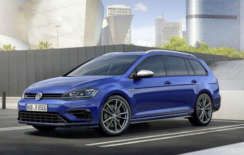 Volkswagen Golf Variant R facelift