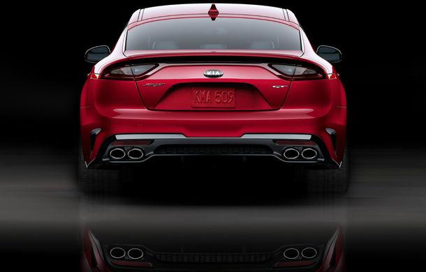 Stinger, cel mai rapid Kia din istorie, este disponibil în România: prețul de pornire este de 33.800 de euro cu TVA - Poza 2
