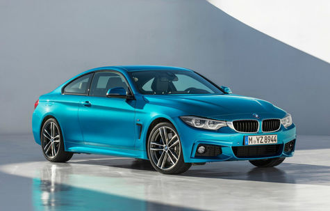 BMW Seria 4 Coupe facelift