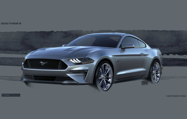 Ford Mustang facelift este disponibil în România: start de la 38.800 de euro - Poza 2