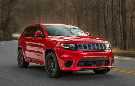 Jeep Grand Cherokee Trackhawk -