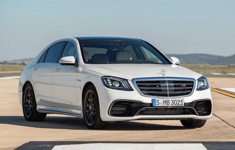Mercedes-Benz Clasa S AMG facelift -