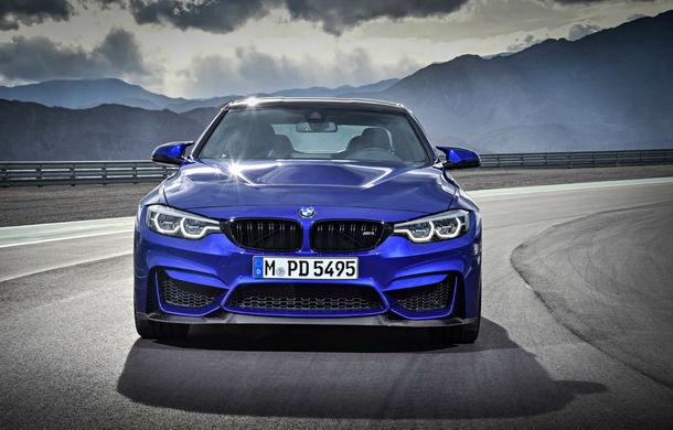 """BMW M4 CS: 460 CP pe """"veriga lipsă"""" dintre versiunea clasică M4 și varianta de performanță GTS - Poza 2"""